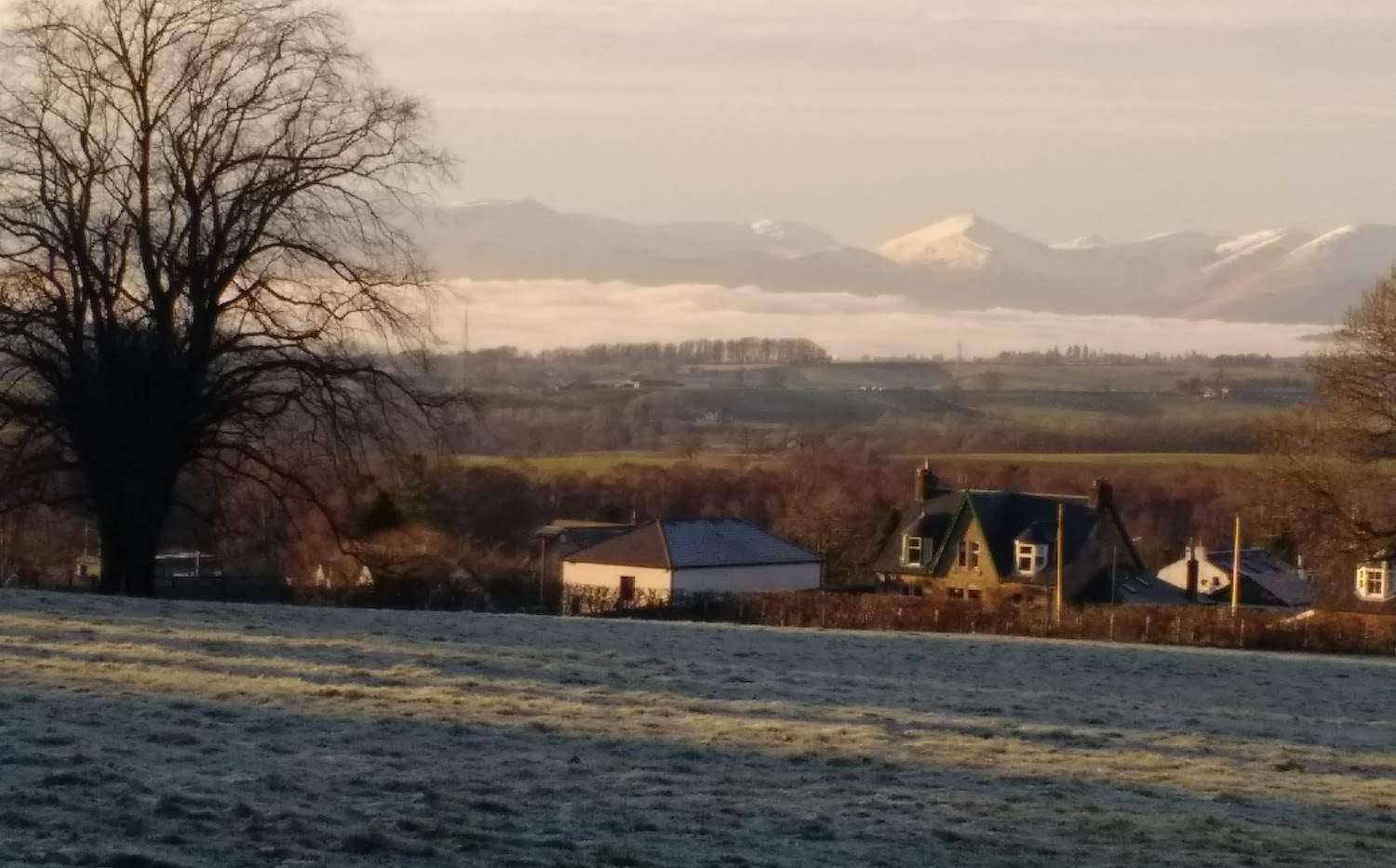 Trossachs from Drumtian Road – photo by Sam Lyth